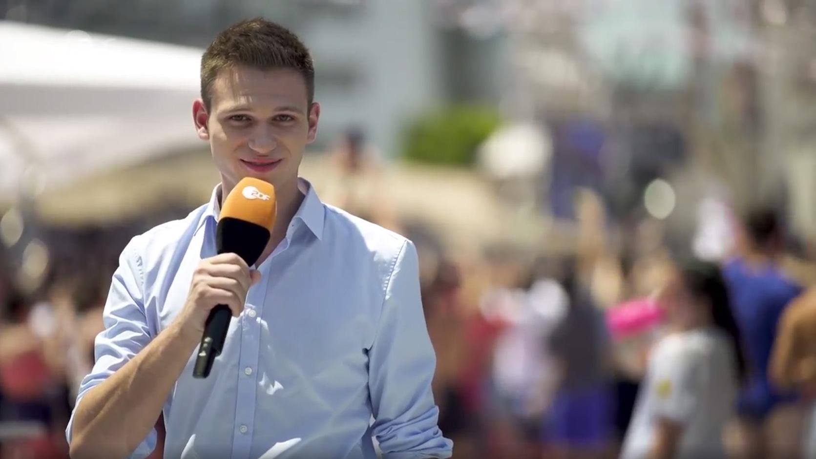 ZDF: Fanreporter Fabian Köster