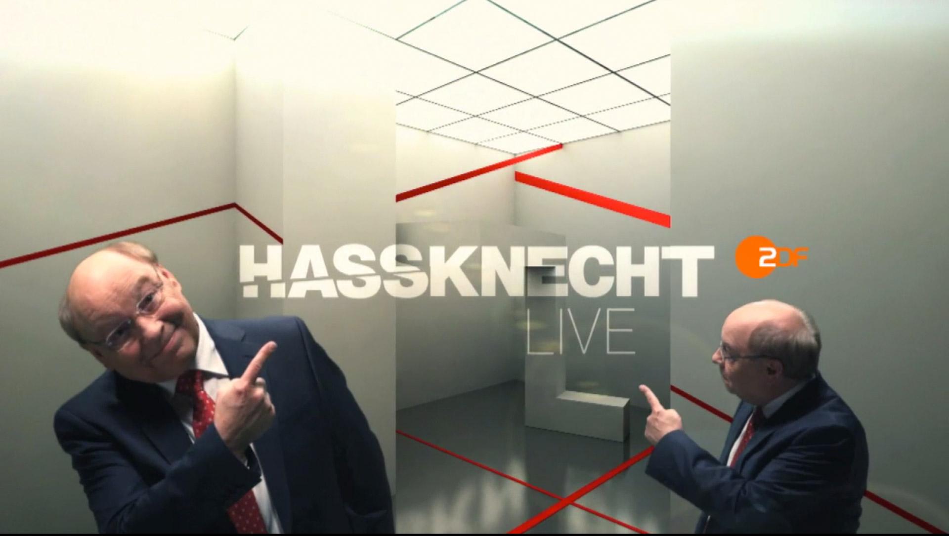 Hassknecht Fabian Koester Heute Show ZDF Oliver Welke Hassknecht Politik Satire Humor Live 3 sat