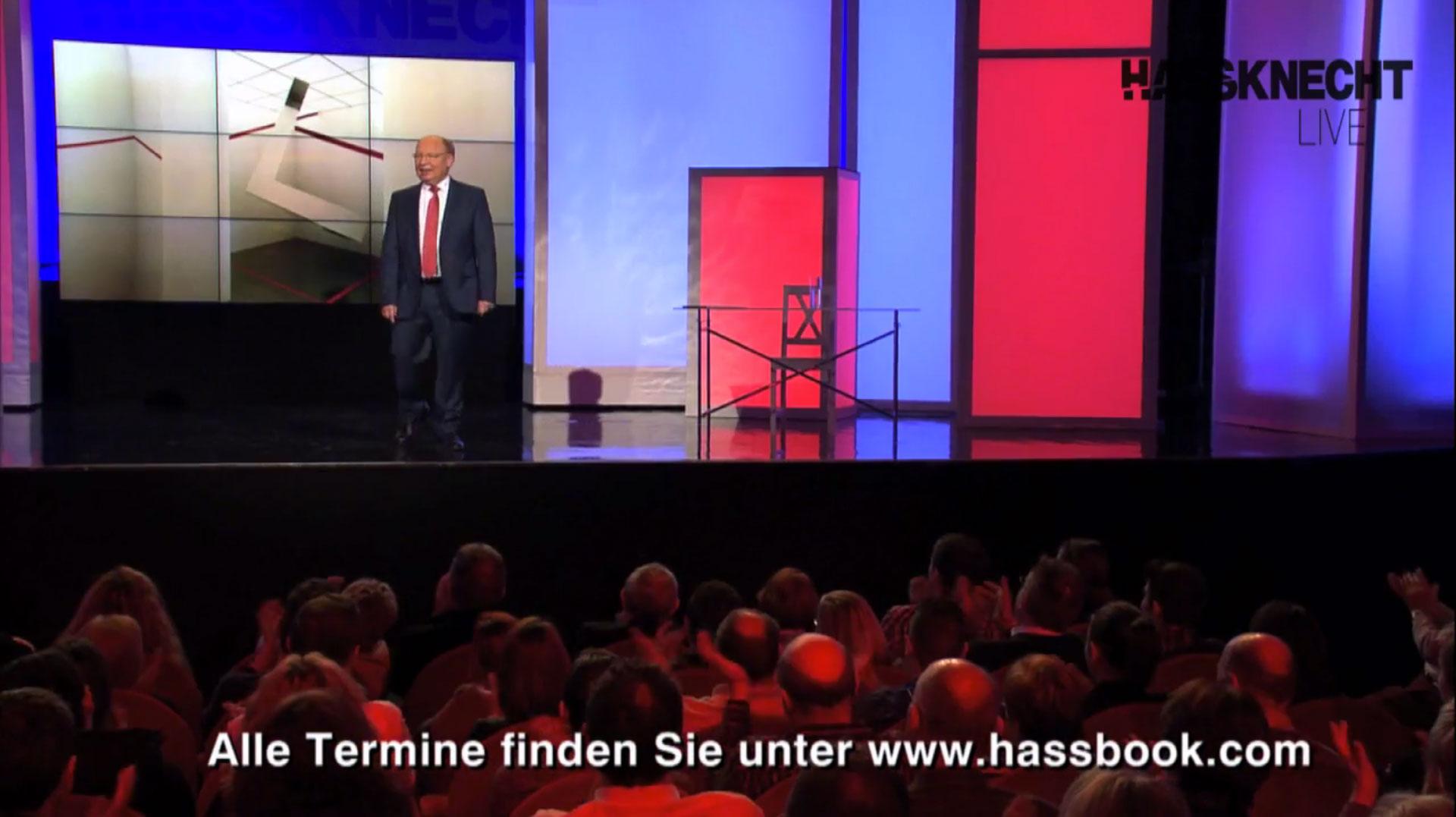 Hassknecht Fabian Koester Heute Show ZDF hassbook Live Oliver Welke Hassknecht Politik Satire Humor